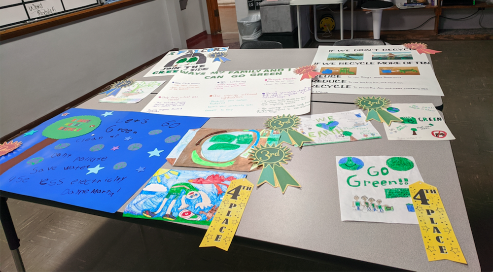 Go Green Poster Contest Winners