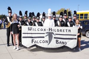 Falcon Marching Band Completes Season