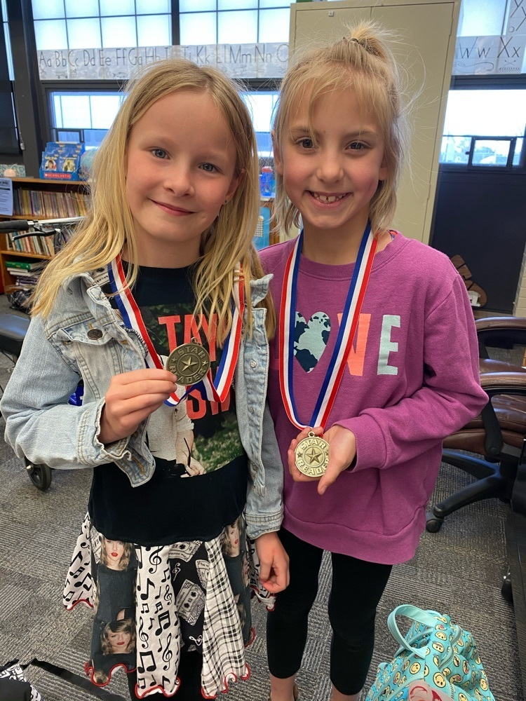 Khloe and Kaylan earned their AR medals today!
