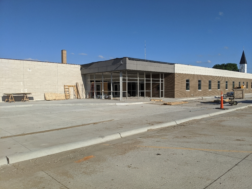 Main Entrance July 25, 2020