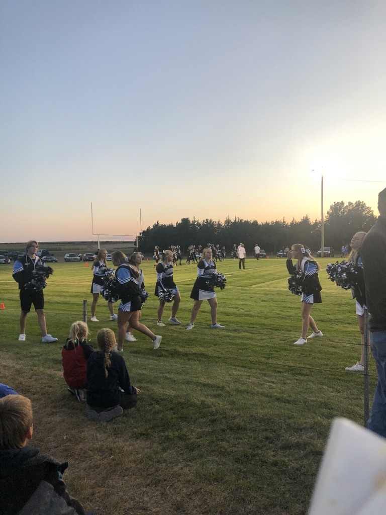 Our cheerleaders did a great job supporting our team!