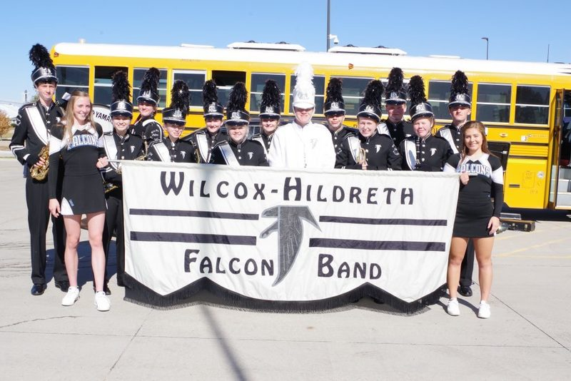 WH Falcon Band team photo